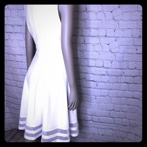 White Calvin Klein dress